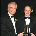 David Humphreys MBE with Paul Clarke UTV