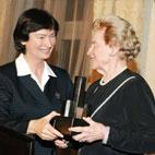 Margie Grace, President Grace Institute, Director Flax Trust/America