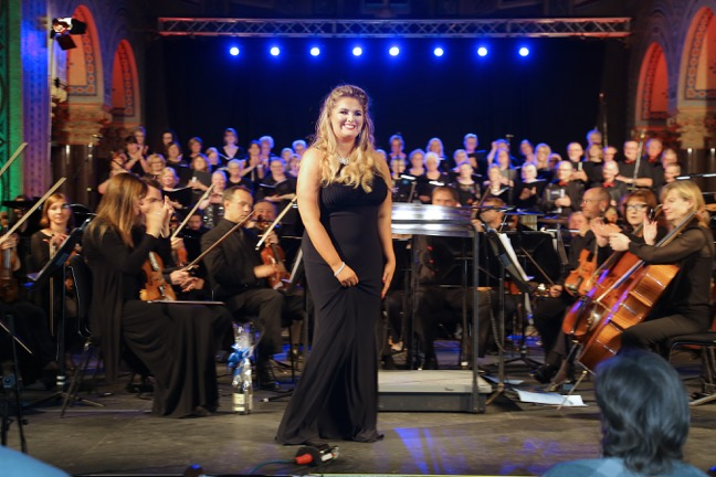 Gala Concert with Megan Mooney soprano and members of the Ulster Orchestra in aid of the Northern Ireland Hospice and North Belfast Community Leadership Awards 8th September 2016