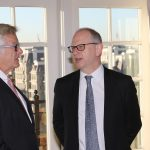 OL9A0112 150x150 Flax Trust/America Champagne Reception & Breakfast Co Chairs Jim Boland, Chair Flax Trust/America & Mike McCurry, Director Flax Trust/America  Tuesday November 26th 2019, The Hay Adams The Rooftop Terrace